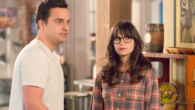 New Girl Deschanel Johnson May 7 Episodic - H 2013