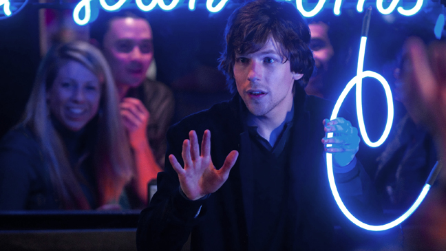 Now You See Me Jesse Eisenberg - H 2013