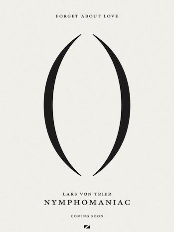 Nymphomaniac Teaser Poster P