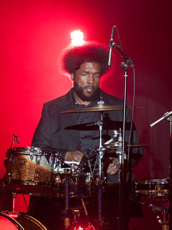Questlove Performing at BlackBerry Z10 Launch Event  - P 2013