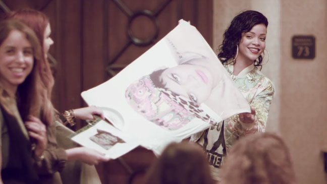 Rihanna River Island Collection screengrab - H 2013