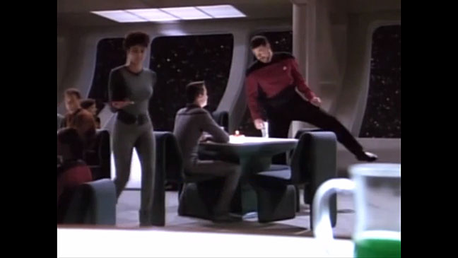 Star Trek Riker Sits Down - H 2013