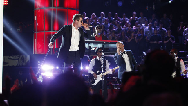 The Voice Robin Thicke Pharrell - H 2013