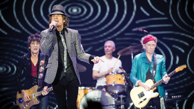 Rolling Stones Performance - H 2013