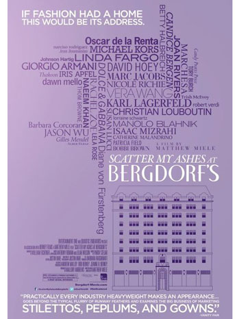 Scatter My Ashes at Bergdorf's Poster - P 2013