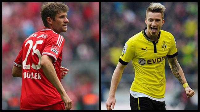 Bayern and Dortmund H 2013