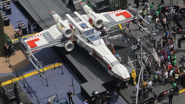 Star Wars Lego Ship - H 2013