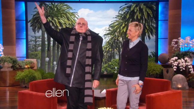 Steve Carell as Gru on Ellen - H 2013