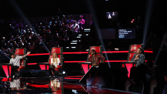 The Voice May 27 Judges - H 2013