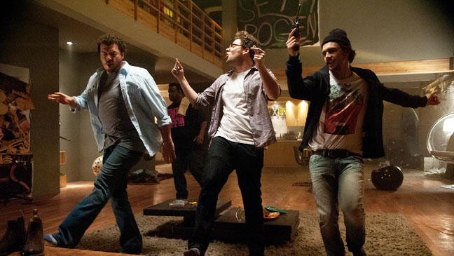 This Is The End McBride Rogen Franco Dancing - H 2013