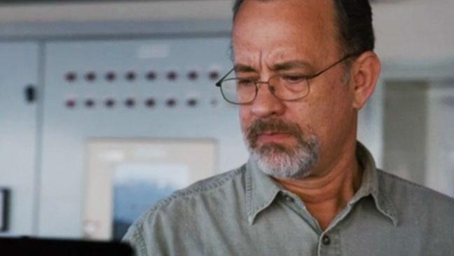 Captain Phillips Trailer Screengrab Hanks - H 2013