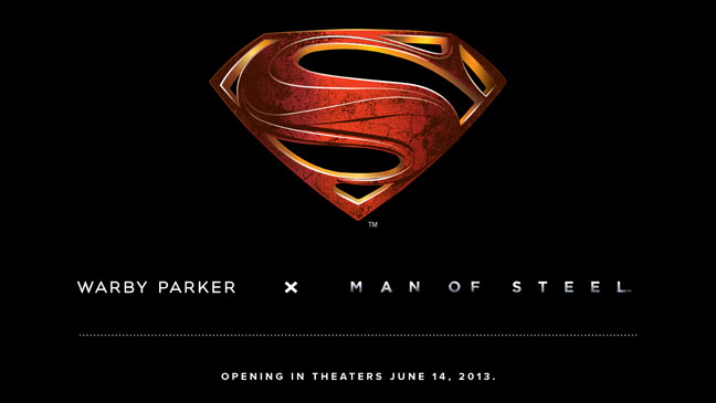 Warby Parker x Man of Steel - H 2013