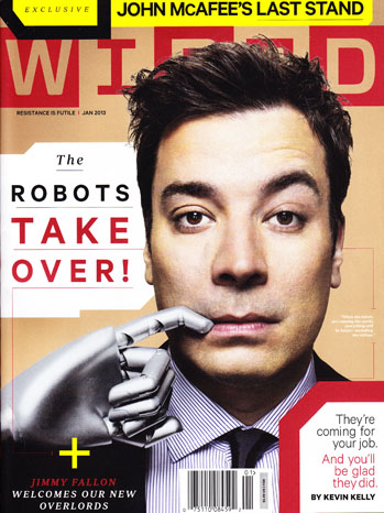 Wired Magazine Cover Jimmy Fallon - P 2013