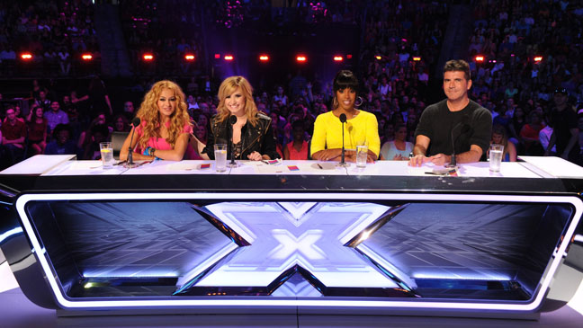 X-Factor New Judges Table - H 2013