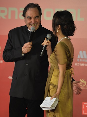 Oliver Stone at Shanghai Film Festival 2013 P