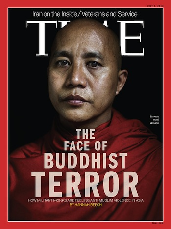 Time Magazine Cover Banned in Myanmar P