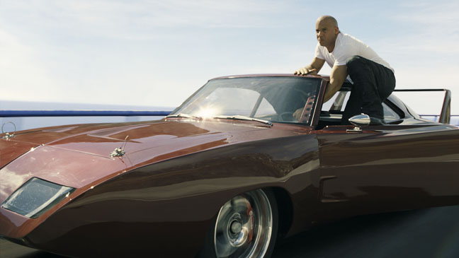 Fast & Furious 6 Vin Diesel on Car - H 2013