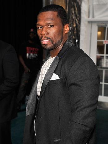 50 Cent Headshot - P 2013