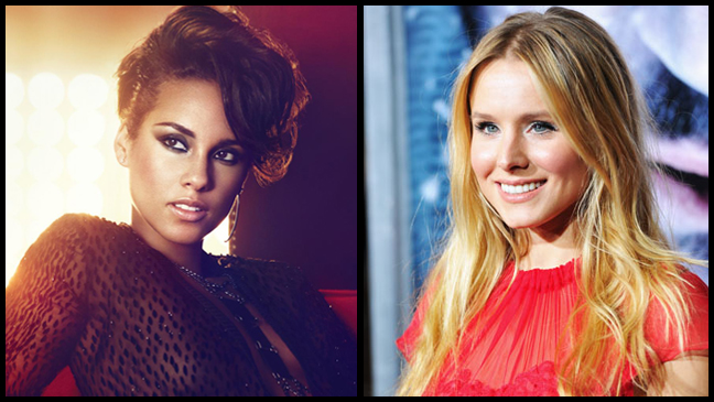 Alicia Keys Kristen Bell split L