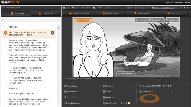 Amazon Studios Screengrab - H 2013