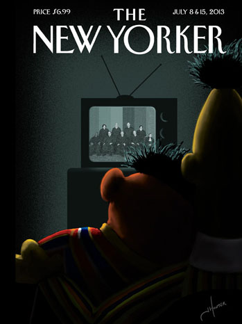 Bert and Ernie New Yorker Cover - P 2013