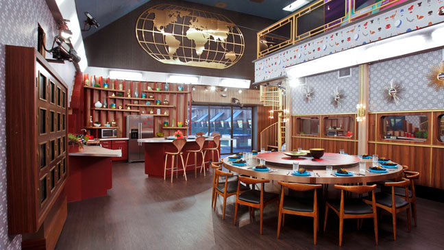 Big Brother 15 House Kitchen - H 2013