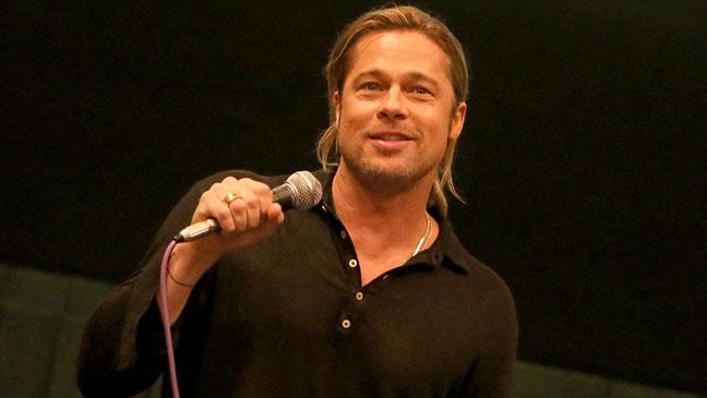 Brad Pitt Aint It Cool News Special Screening Of World War Z - H 2013
