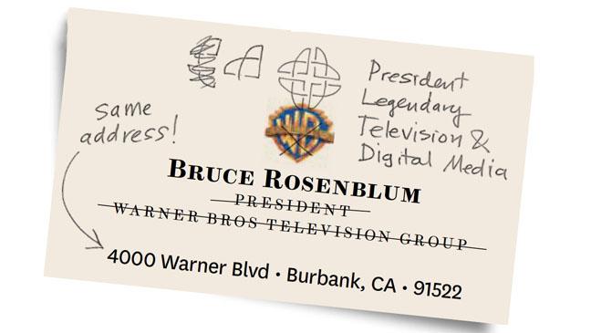Bruce Rosenblum Business Card - H 2013