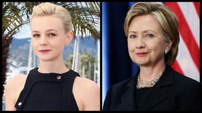 Carey Mulligan Hillary Clinton - H 2013