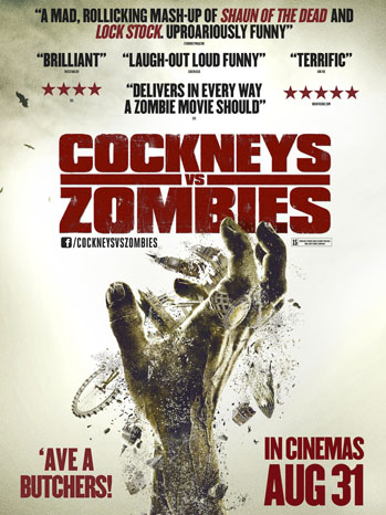 Cockneys vs. Zombies Poster Art - P 2013