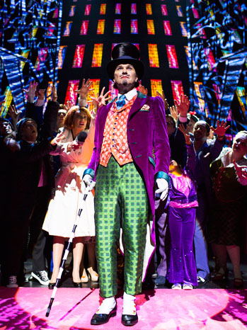 Charlie and the Chocolate Factory Musical Still - P 2013