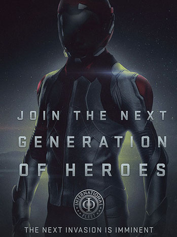 Ender's Game Poster Art - P 2013