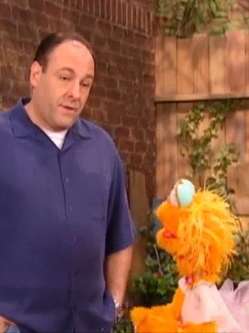 Gandolfini Sesame Street - P 2013