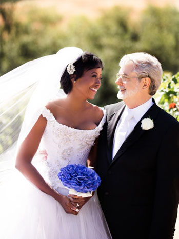 George Lucas and Mellody Hobson Wedding - P 2013