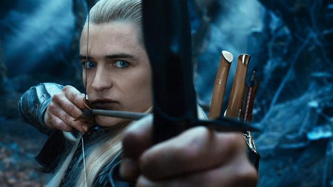 The Hobbit: Desolation of Smaug Bloom as Legolas - H 2013