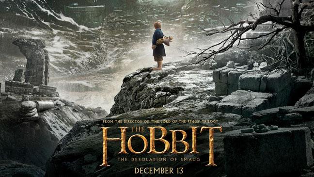 Hobbit Desolation of Smaug Poster - H 2013