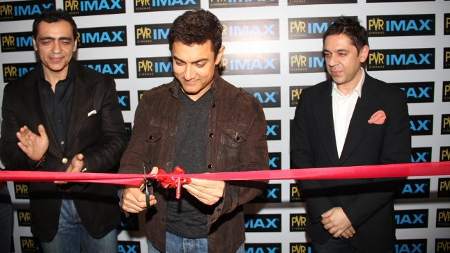 IMAX PVR India Mumbai Launch