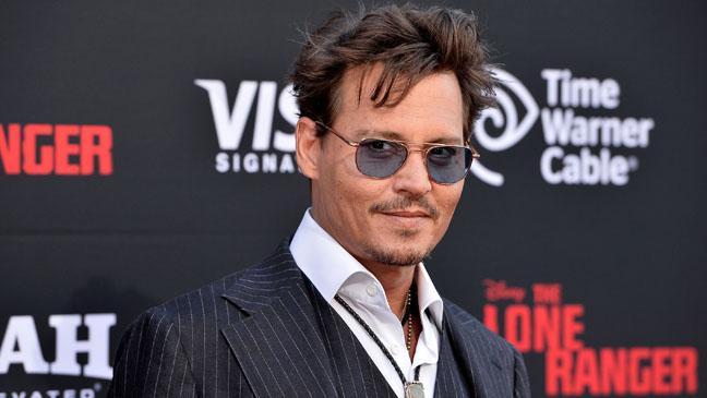 Johnny Depp Lone Ranger Premiere H 2013