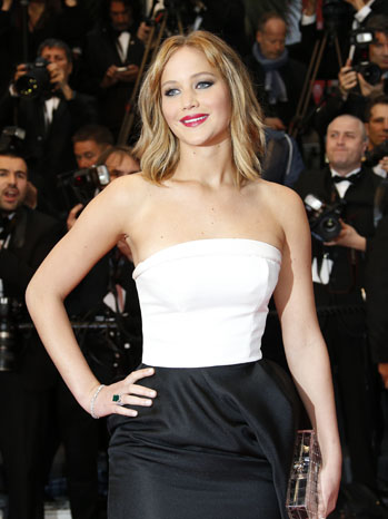 Jennifer Lawrence Cannes - P 2013