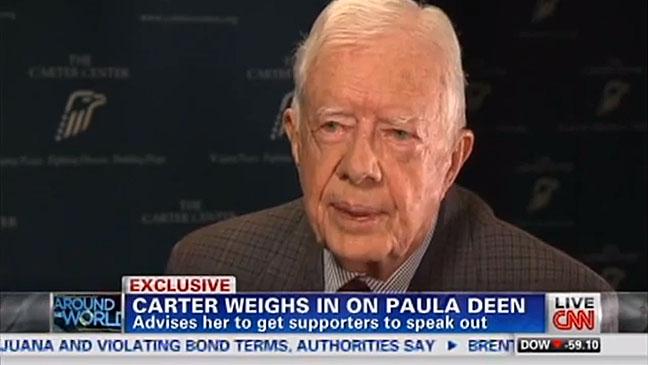 Jimmy Carter on CNN - H 2013