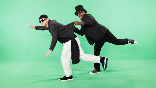 Jimmy Kimmel Live! with Foxx on Green Screen - H 2013