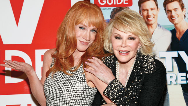 Kathy Griffin Joan Rivers - H 2013