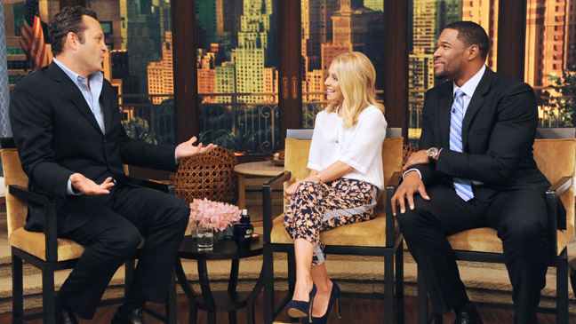 Live with Kelly and Michael Vince Vaughn - H 2013