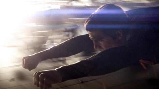 Man of Steel Cavill Flying - H 2013
