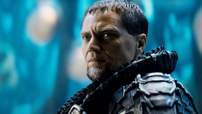 Man of Steel General Zod Shannon Close Up - H 2013