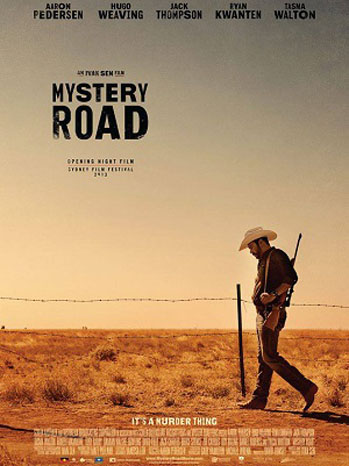 Mystery Road Poster Art - P 2013