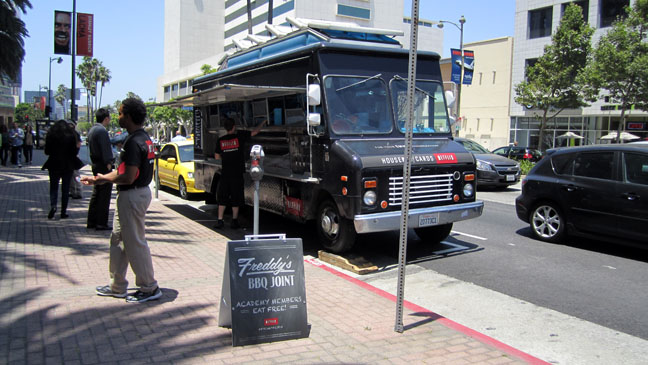 Netflix House of Cards Food Truck - H 2013