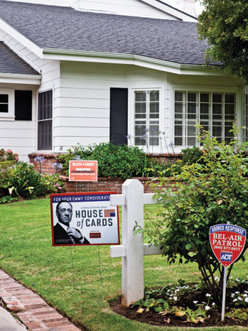 Netflix House or Cards Yard Signs - P 2013