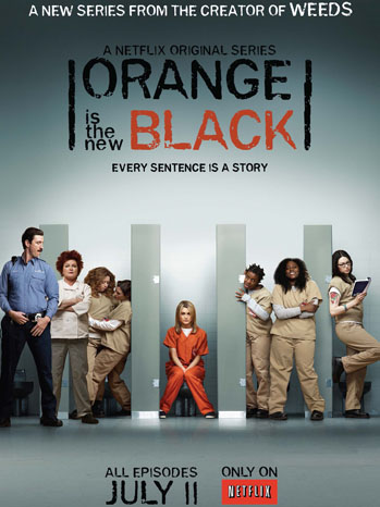 Orange is the New Black Netflix Key Art - P 2013