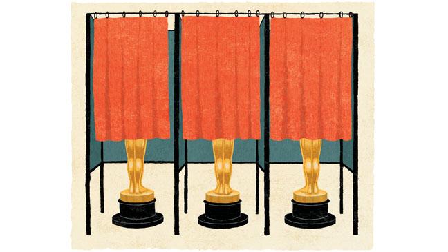 Oscar Campaign Illustration - H 2013